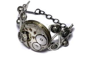 Steampunk Bracelet 5 by CatherinetteRings
