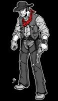 Rampage Network Mascot: Cowboy by BenSteamroller