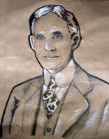 Henry Ford by Deansta