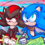Shadow Sonic by WendySakana