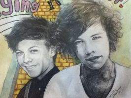 Louis and Harry by SakurionRiel