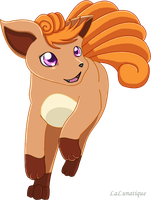 Vulpix 1 by LaLunatique