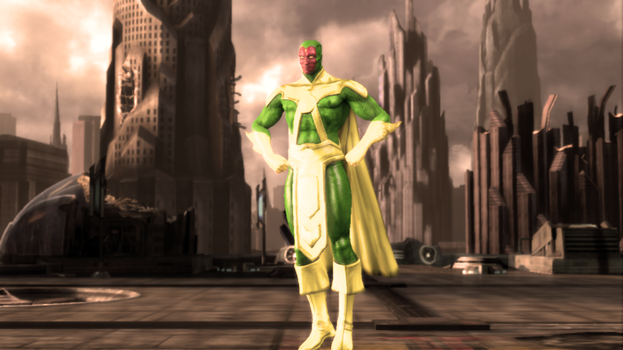 Injustice: Gods Among Us - Non-Movie Vision by CapLagRobin