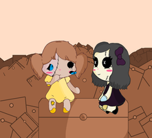 Cluttered Help (reuploaded) by officialchocolate