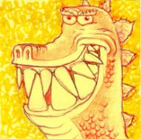 snaggle toothed by thepostitsproject