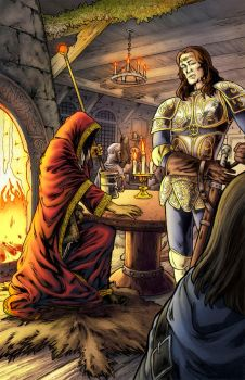 Worlds of Dungeons and Dragons by JSA