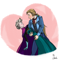 Requests-Frozen romantic moment by ChiehChen