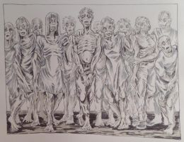My First Zombie Horde by ShayHahn