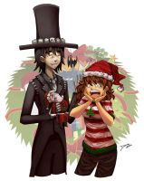 A Santa's doll for you by 2Dea