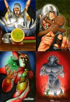 Spellcasters Sketch Cards 04 by RichardCox