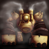 Blitzcrank by Chloemew4ever