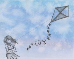 Kite Flying by luciediamonds