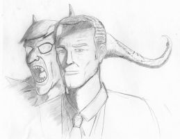 Iain Glen as Norman Osborn by jihef03