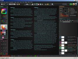 Gimp's interface redesign by edschiffer