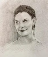 Emily Deschanel by InspiredByYouArt