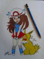 Jolteon little pervert by SoyCuscatleco