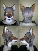 Coyote WIP Use your own eyes mask by xiamara13