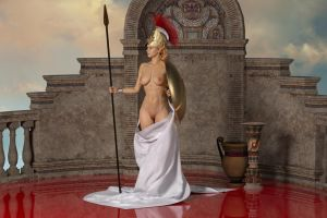 Athena For Thormanoftunder By Poserreality3 by thormanoftunder