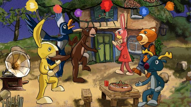 hare's party by ginuse