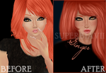 IMVU EDIT: GINGER by thexnostalgicdreamer
