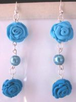 Blue Roses by Anteam