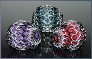 Chainmail Hacky-Juggle Sacks 3 by MajorTommy