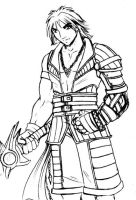 Dark Tidus: Rough version by nachtwulf