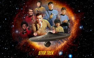 Star Trek The Original Series by 1darthvader