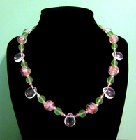 Spring Rain Choker by BloodRed-Orchid