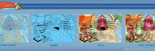 Board Game Online - GoT City over Narrow Sea by YelZamor