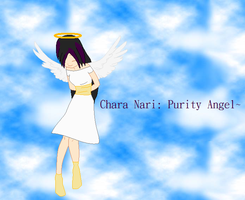 Chara Nari: Purity Angel by angelofcryinghearts