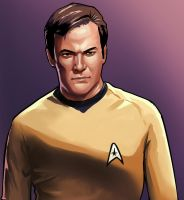 Cpt. Kirk in the GTA Style by billydallaspatton
