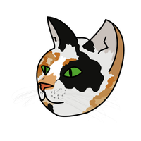 Calico Cat - Commision by KellyPony