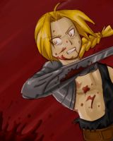 FMA: bloody battle by Scribbles02