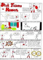 Stick Figures in Heaven, Comic by SophlyLaughing