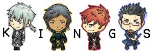 Chibi Kings of Shizume City by Mikkoy
