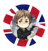 Chibi UK by PandaleonSaa