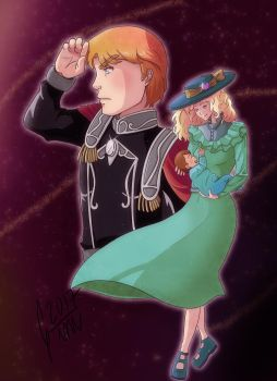 Mittermayer family -Legend of Galactic Heroes by Gini-Gini