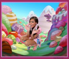 Yael in Candyland 2 by Undercheese101