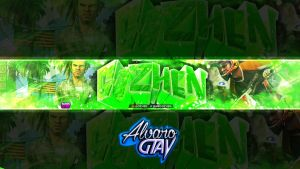 Gozhen Banner Full Hd by AlvaroGtaV