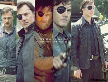 The Walking Dead WALLPAPER FANMADE  The Governor by PluemKP