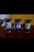 3D Origami Graduation Bears by LuvYen101