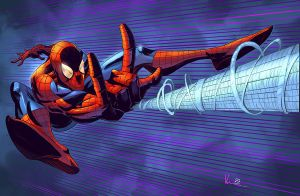 The Amazing Spider-Man by NJValente