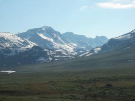 Nordic mountains by Just-Stocks