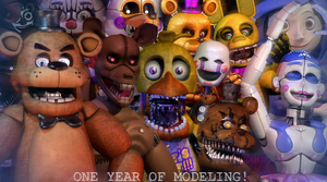 One Year of Modeling in DA! by GamesProduction