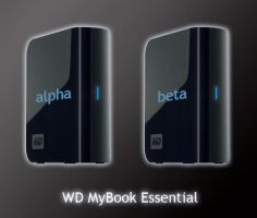 WD MyBook Essential by mikecka