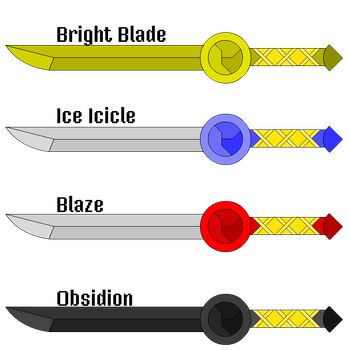 Video Game - Basic Daggers by the-fatman