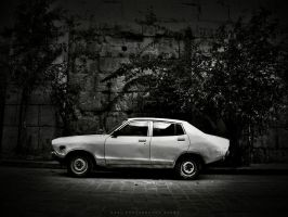 The old car by HadiGFX