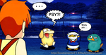 Misty and.... Psyduck(s). by HuederonVis7140Z