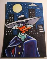 Darkwing Duck ACEO by ladyriven